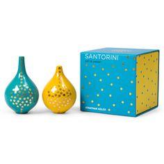 Jonathan Adler Santorini Salt & Pepper Shakers