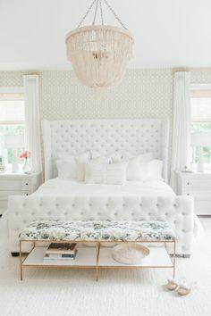 Gorgeous white bedro