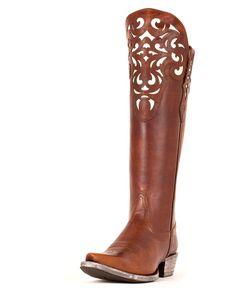Ariat Womens Hacienda Boot - Vintage Caramel