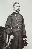 """Union General Joshua Lawrence Chamberlain-"""" Served at many of the major battles of the war, he is most famous for his command at Little Round Top during the battle of Gettysburg. He received the Medal of Honor for Little Round Top. Gettysburg Movie, Gettysburg College, Gettysburg National Military Park, Gettysburg Address, Today In History, Us History, American History, History Books, Family History"""