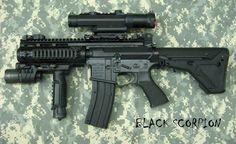 POF P416 BLACK SCORPION SBR 22 CAL - AV Guns - Gun Point USA - POF-USA, LWRC, KRISS