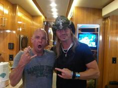 KC and Bret Michaels