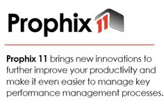 Prophix 11 SP3 incorporates user feedback to put additional power in the hands of the business user. Building on innovations introduced in Prophix 11, this update offers new data discovery and visualization.  http://www.prophix.com/about-prophix11/