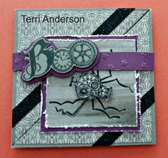 Stampmemories with Debbi: Halloween Steampunk Scoundrels card