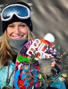 Jamie Anderson is crazy!