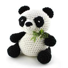 DIY Häkelset Panda Yin