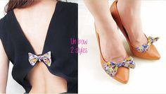 Réalisez un nœud pour sublimer vos robes dos nu ou vos escarpins ! Burberry Outlet, Site Mode, Barrettes, Bikinis, Swimwear, Kitten Heels, Bows, Diy, Pumps