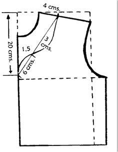 Empiècements 2 - Cómo hacer algunos tipos de escotes  (I)