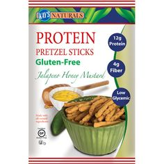 Kay's Naturals Better Balance Pretzel Sticks Jalapeno Honey Mustard 1.2 Oz (6 Pack)