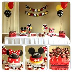 Leelees Cake-abilities: Minnie and Mickey birthday party
