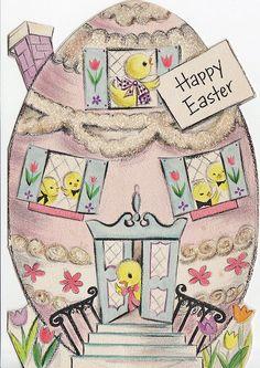 Vintage Easter card from Hallmark.