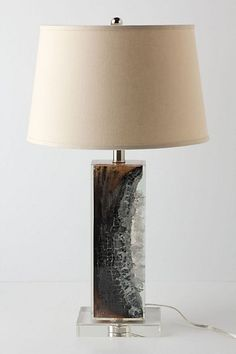 "Scorched Timber lamp from Anthropologie | interior design tips | get the look from ""How To Style your Bedroom"" 