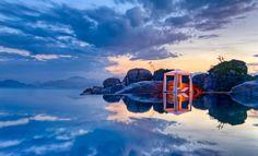 Nha Trang, Vietnam : 'Am Lam Ninh Van Bay Resort'