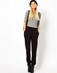 Image 1 of ASOS Lightweight Sweatpants in Slim Fit