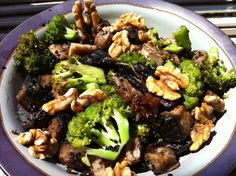 Sesame Broccoli Portobello Stir Fry