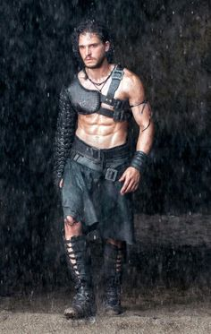 Why do this gladiator got to be so sexy