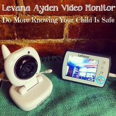 Levana Ayden™ Baby Video Monitor Review & Giveaway #DoMore 8/6 - Newly Crunchy Mama Of 3