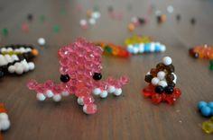 Test Avis Modèles Aquabeads, Coffret de démarrage, amis animaux et animaux marins et la boite de rangement - Issu du blog / Site Maman Sur Le Fil