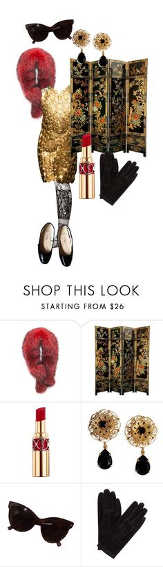 """""""Untitled #481"""" by gina-stewart75 on Polyvore featuring Andrew Marc, Dolce&Gabbana, Yves Saint Laurent, John Lewis and A.P.C."""
