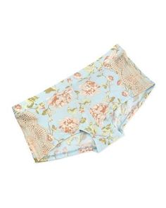 Underella by Ella Moss Audrey Floral-Print Boyshorts, Wallflower New offer @@@ Price :$34 Price Sale $29