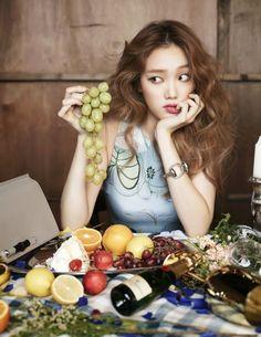 Lee Sung Kyung for Elle Korea