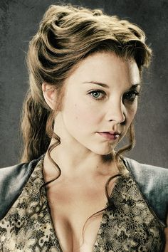 Westerosi delegation to England: Lady Margaery Tyrell. Daughter of the late Lord Mace Tyrell of Highgarden and lady in waiting of Dowager Queen Baela.
