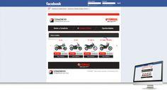 CONSÓRCIO YAMAHA - Conceituação e projeto gráfico e criação de abas (App) personalizadas. Geração de conteúdo e criação de posts personalizados. Social ADS para geração de LEAD de vendas.