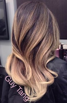 Guy tang balayage ombré next hair style. Guy Tang Balayage, Balayage Hair, Soft Balayage, Bayalage, Def Not, Brunette To Blonde, Great Hair, Hair Videos, Fall Hair