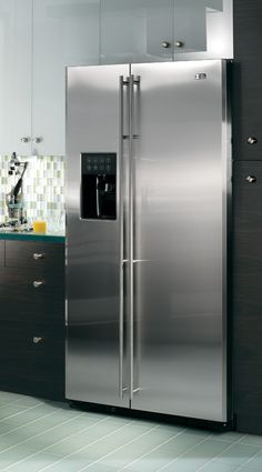 Frame your refrigerator with custom cabinets for a seamless look.