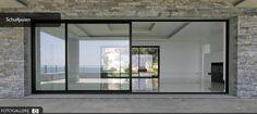 sliding window aluminium 3100 I-process Sepalumic 1 Windows, Windows And Doors, Flat Roof Extension, Exterior Design, Exterior Doors, Bungalow Exterior, Sunroom Designs, Long House, Minimal Windows