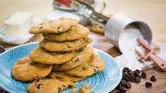 Gluten Free Chocolate Chip Cookies! Recipe by Deb Tucker-Frank!