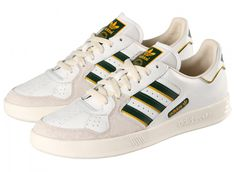 adidas court top white 2 adidas Originals Tennis Court Top White Green Yellow