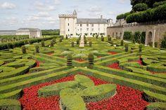 El jardín más visitado de Francia: Villandry