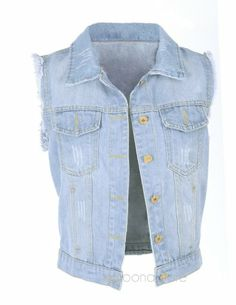 Autumn Women's Punk Style Water Wash Denim Sleeveless Waist Jacket Jeans Vests with Button & Pocket (L) enjoyshopping,http://www.amazon.com/dp/B00K4V6IQU/ref=cm_sw_r_pi_dp_1YRDtb0TGSERBG7R