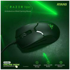 Razer Mouse, Pc Components, Viper, Computer Accessories