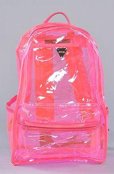 I had a clear Barbie backpack like this