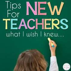 Tips for new teachers and students during back to school time. Be successful and avoid the first year mistakes with these ideas about classroom management, organization, personal growth, and much more I wish I knew! Student Teacher, New Teachers, Elementary Teacher, School Teacher, Teachers Toolbox, Elementary Music, Upper Elementary, Lampang, First Year Teaching