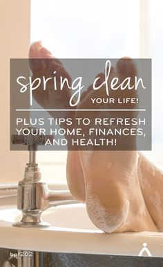 A free 21-day email program to help you tackle the post-winter cleanout – for your home, finances and health.