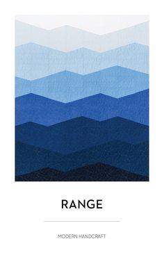 Range Quilt Pattern