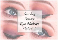Smokey Sunset Eye Makeup | Tutorial. - Beauty-Blush
