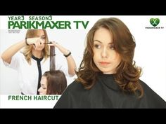 Как стричь волосы средней длины How to cut middle hair парикмахер тв parikmaxer.tv - YouTube