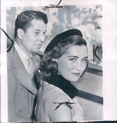 1956 New York Alfred G Vanderbilt and wife Jeanne Wire Photo