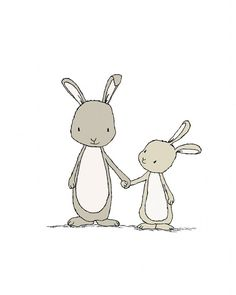 Bunny kinderkamer kunstNeem mijn Hand kleine door SweetMelodyDesigns