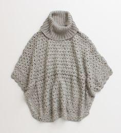 Textured, acrylic & mohair crocheted bolero. 13440