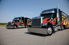 freightliner race hauler | learn more about Freightliner NASCAR haulers, visit the Freightliner ...