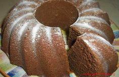 Vařená kakaová bábovka