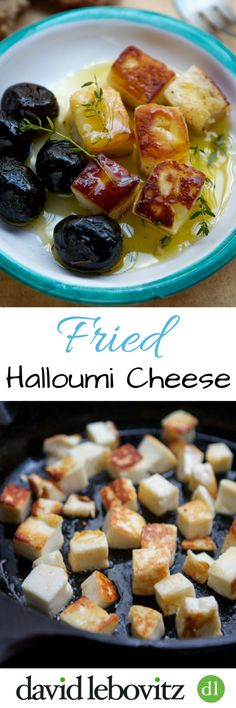 Fried halloumi cheese is a tasty and simple recipe; it makes a quick, delicious appetizer or snack.