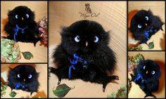 9 отметок «Нравится», 2 комментариев — Anna Magic Owl Flower (@magic.owl) в Instagram: «Славная совуля НИША (значение от индийского - Ночь) для @birkengoff Совушка с трогательными…»