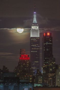 2013 Supermoon Eclipse from NYC