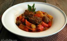 Είσοδος | Cooklospito.gr Greek Beauty, Pot Roast, Food And Drink, Cooking Recipes, Beef, Ethnic Recipes, Foods, Red Peppers, Carne Asada
